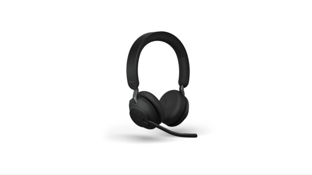 Jabra Evolve2 65 Wireless Headphones excellent headphones for use in office like tele-marketing offices