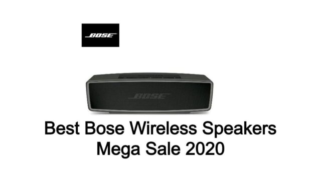 Best Bose Wireless Speakers BlackFriday Deals