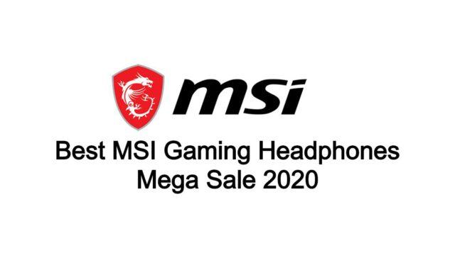 Best MSI Headphones BlackFriday Deals