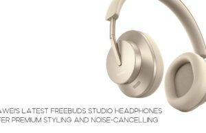 Huawei's latest Freebuds Studio headphones offer premium styling and Noise-cancelling